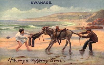 Postcard from Swanage