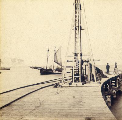 Old Pier Swanage c_1865