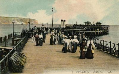 Swanage Pier 1906 LL8 (Haysom Collection) (4)