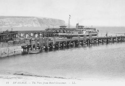 Two Piers 1906 (David Haysom Collection)